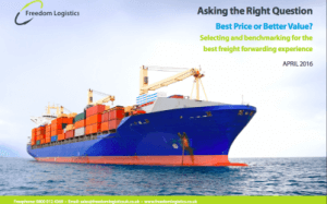 Find the right freight forwarding delivery partners