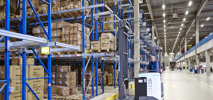 UniCarriers Put Best Foot Forward to Strengthen Skechers Logistics