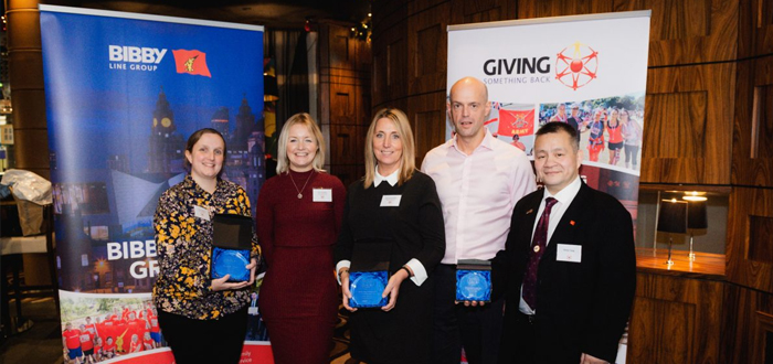 Bibby Distribution Trio Praised For £10 Million Charity Milestone